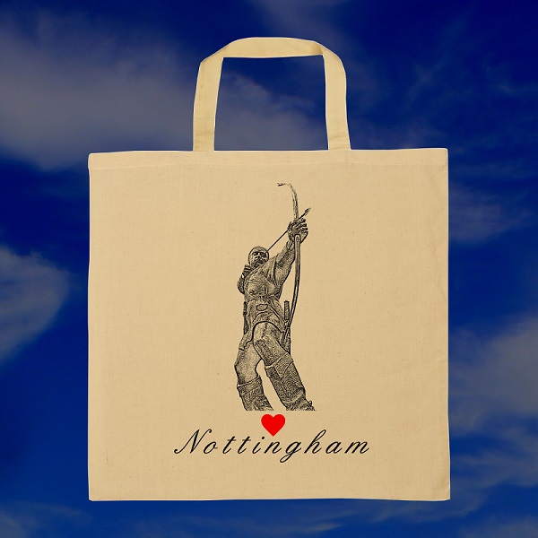 Love Nottingham (Tote Shopping Bag)
