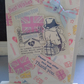 Decoupage Paddington Bear Best Wishes Card