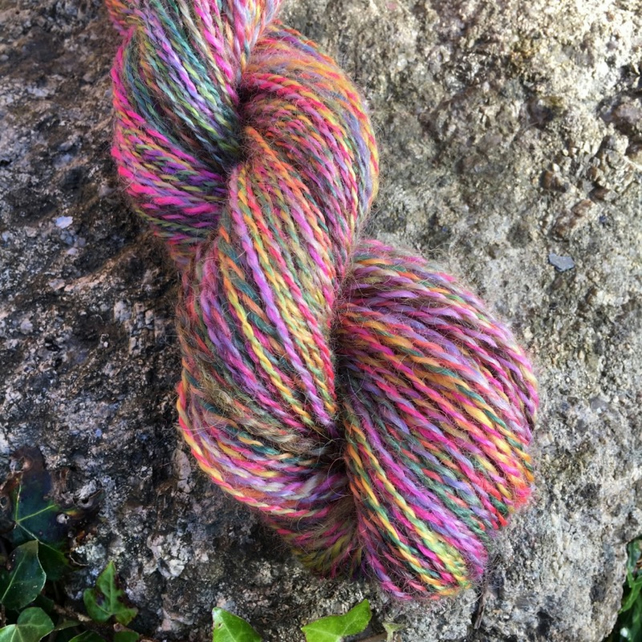 Cornish Hedgerow - Hand Dyed Teeswater