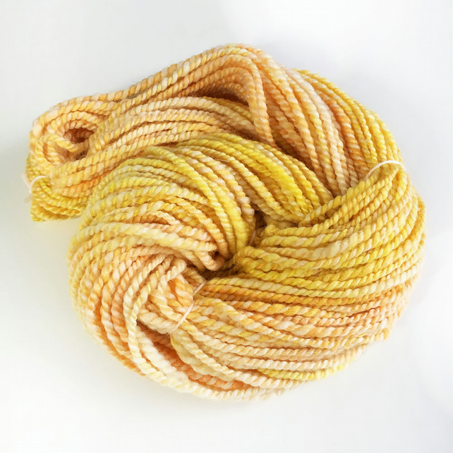 Golden Corn - Handspun Bluefaced Leicester Yarn