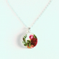Old Country Roses Pendant Romantic Necklace
