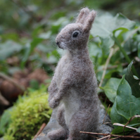 "Needle felting Kit for Beginners - Rabbit (""The Hoppit"")"