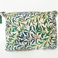 Dumpy Wash bag, green, grass, jungle, jungalow, travel bag, cosmetic bag,