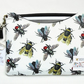 Made to measure tablet cover, Vintage bumble bee species.
