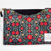Made to measure iPad sleeves, Folk print, floral print, tablet covers.