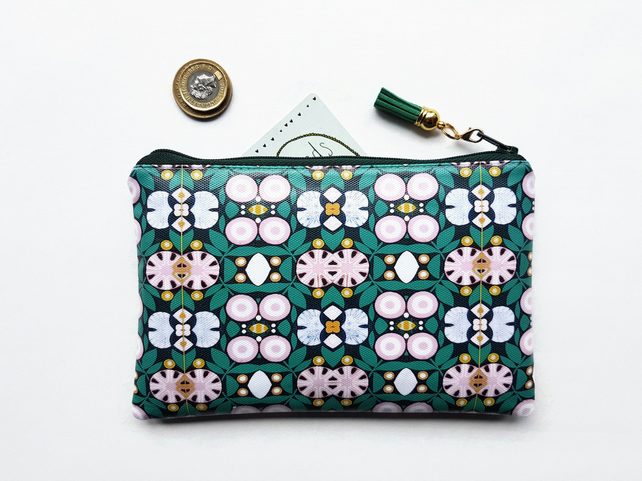 Travel Gifts, Waterproof Wallet,green and pink purse,passport gift set,eco gift,