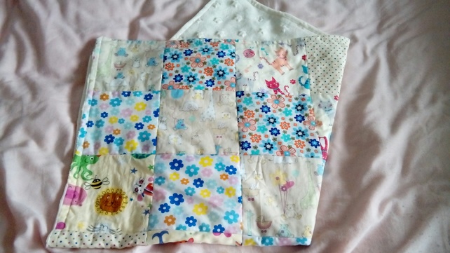 Animal Patchwork Baby Blanket