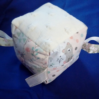 Sensory Baby Cube with Animal Design