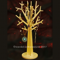 Plywood Ornamental Tree, Jewellery Display