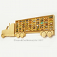 Toy Car Truck Shelf, Storage & Display Unit, Birch Plywood; 'US' STYLE