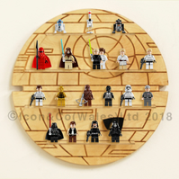 Themed Mini Toy Figurine Storage Display Shelf (SMALL), Birch Ply, 30cm Diameter