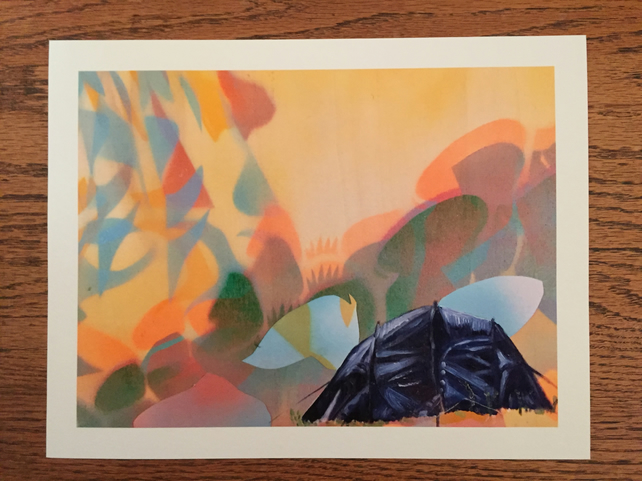'Camping' Giclee Print
