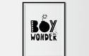Boys Typography