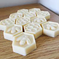 Set of 3 Goats milk and Honey Soaps