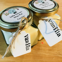 Jam Jar Candle - Sweet Vanilla