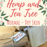 Hemp and Tea Tree Soap Bar