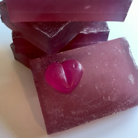 Blackcurrant and Pomegranate Soap Bar