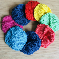 Pack of 5 Knitted Make Up Remover Pads