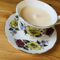Sweet Vanilla Teacup Candle