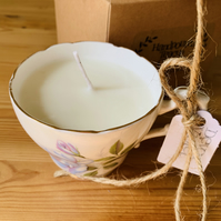 Devon Violet Teacup Candle and Gift Box