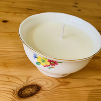 Rose Garden Sugar Bowl Candle