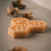 Goats milk & Organic Honey Soaps - set of 3