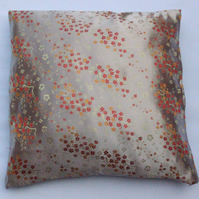 "Oriental cushion, cherry blossom cushion 18x18"" (45x45cm)"