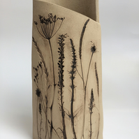 Wild flower bloom vessel