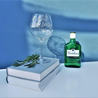Dartington Gin Glass personalised for any occasion
