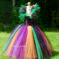 Halloween Witch Tutu Dress