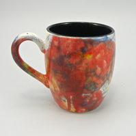 free style glazing  coffee mug handmade Tea mug coffee mug