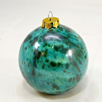 handmade Christmas Bauble tree Ornaments Ceramic Bauble