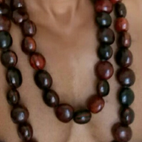 A Handsome Handmade Sebuca Bead Necklace For Him