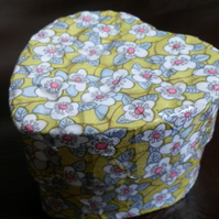 Small Ring Box, Gift Box, Mosaic Box, Heart Box, Decoupage Gift Box