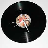 Cliff Richard Vinyl Record Clock