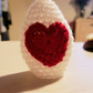 Love heart Egg Cover