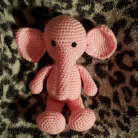 Pink Elephant Soft Toy