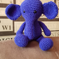Elephant Crochet Soft Toy