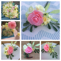 Bespoke Paper Flower Collection for Cake Topper or Decoration