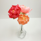 Paper Peonies- Lasting Flowers for Home Decoration- Gifts- Wedding Flowers-