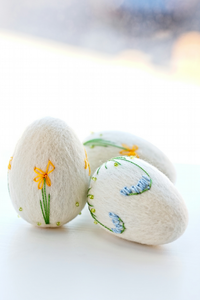 Easter eggs, set of 3