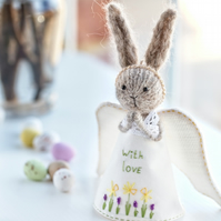 Personalised Easter Gift, Easter Bunny Angel
