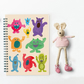 Kids Notebook, Spiral Notepad, A5 Notebook, Journal, Sketchbook, Stocking Filler
