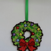 Christmas Wreath hanging decoration  (C001)
