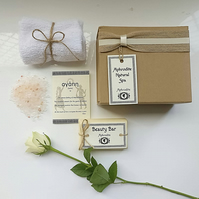 'Love' Personalised Bath Gift Set with Inspirational Quote