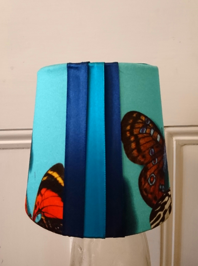 Little blue butterfly lampshade