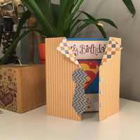 Superman Birthday Card - Personalised for Your Special Someone!