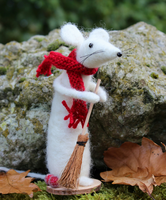 Mabel Mouse Felting Kit