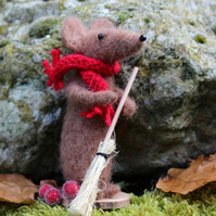 Wilfred Mouse Felting Kit