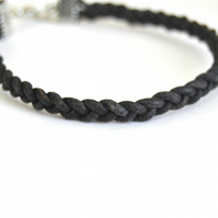 Handmade Leather Braided Bracelet